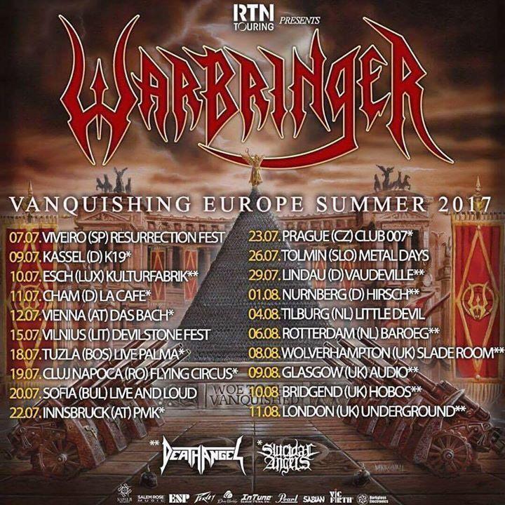 Warbringer @ Glen Helen Amphitheater formerly San Manuel Amphitheater - San Bernardino, CA