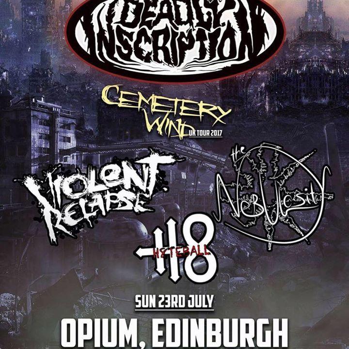 Violent Relapse Tour Dates