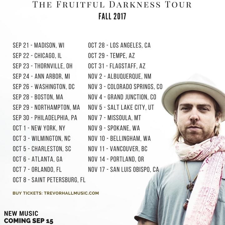 Trevor Hall Tour Dates