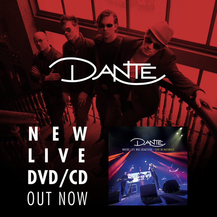DANTE - Progressive Metal Tour Dates
