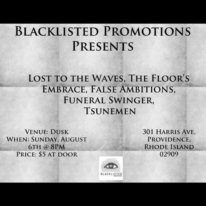 Funeral Swinger Tour Dates