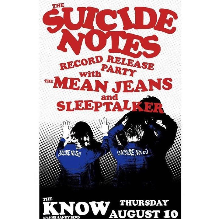 The Suicide Notes Tour Dates
