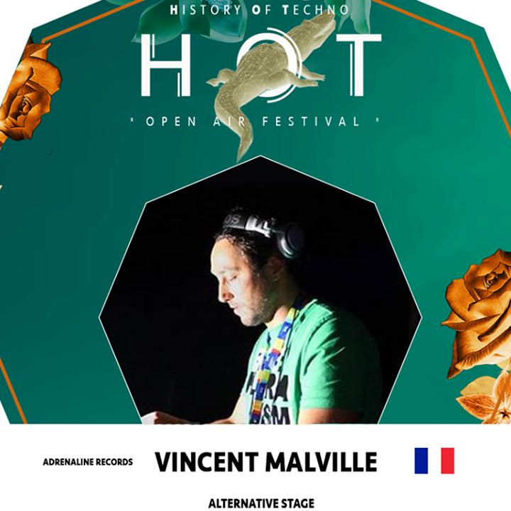 Vincent MALVILLE Tour Dates
