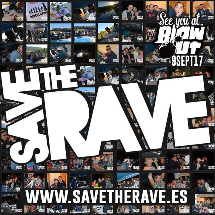 Save The Rave - Valencia Tour Dates