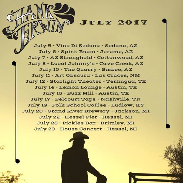 Hank Erwin Tour Dates