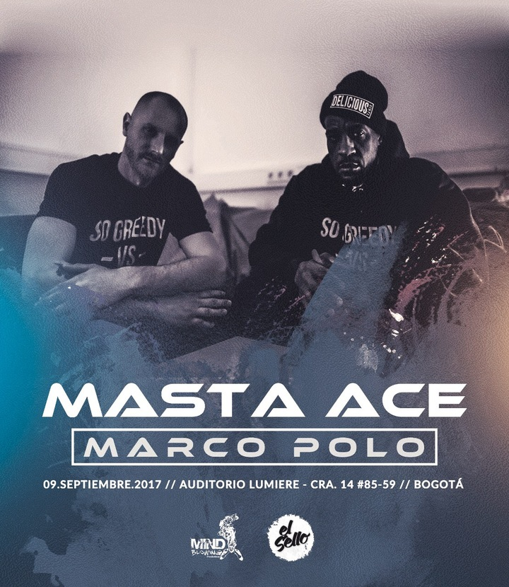Masta Ace @ Auditorio Lumiere - Bogota, Colombia