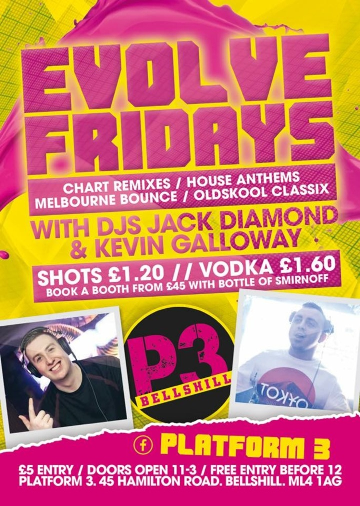 Jack Diamond @ Jack Diamond @ Evolve Fridays At Platform 3 - Bellshill, United Kingdom