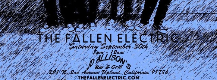 The Fallen Electric @ JD Allison's Bar & Grill - Upland, CA
