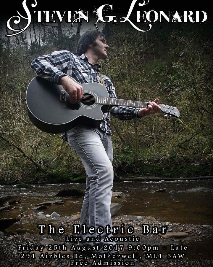 Steven G. Leonard @ The Electric Bar  - Motherwell, United Kingdom