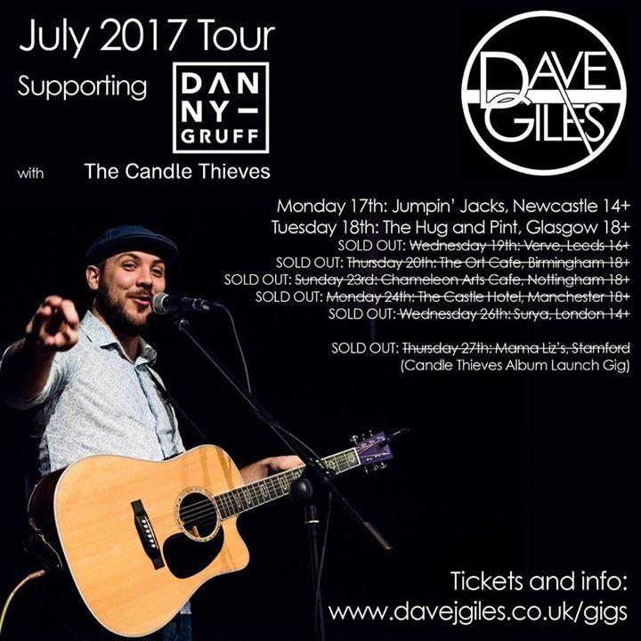 Dave Giles @ The Garage - London, United Kingdom