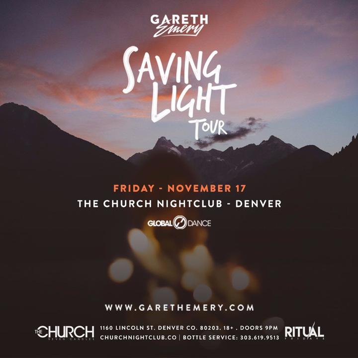 Gareth Emery @ The Church - Denver, CO