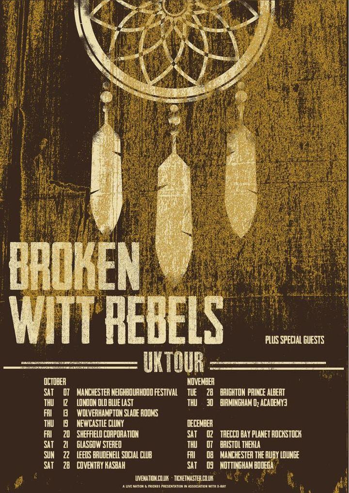 Broken Witt Rebels @ Ruby Lounge  - Manchester, United Kingdom