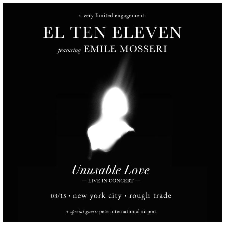 El Ten Eleven @ Rough Trade - Brooklyn, NY