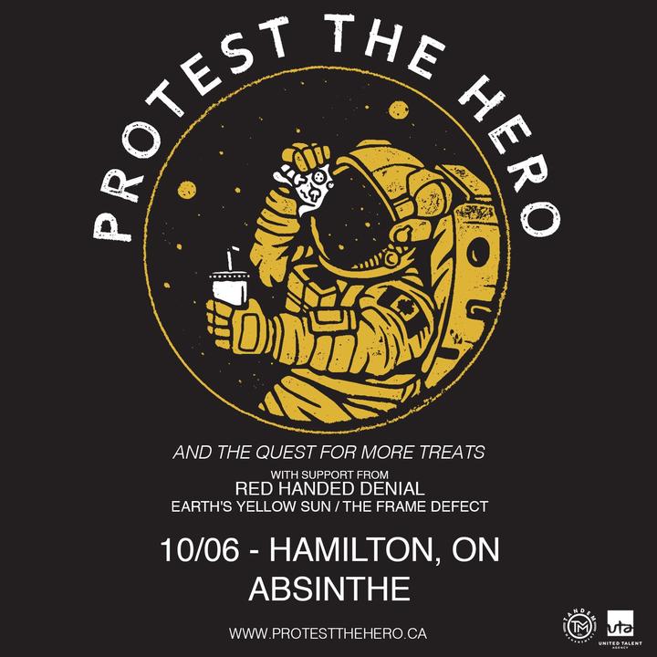 Red Handed Denial @ Club Absinthe - Hamilton, Canada