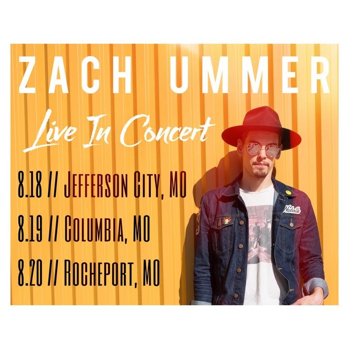 Zach Ummer @ The Broadway Hotel - Columbia, MO