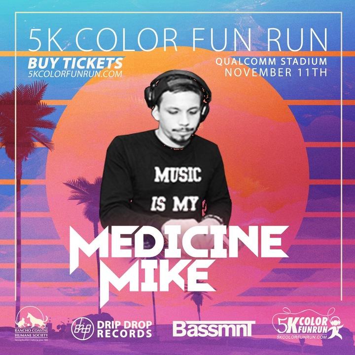 Medicine Mike @ Qualcomm Stadium - San Diego, CA