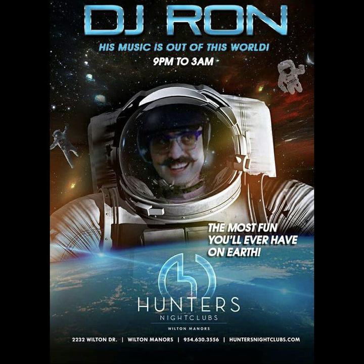 DJ Ron @ Hunters - Wilton Manors, FL