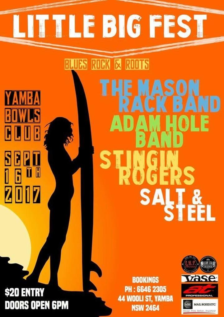 Adam Hole @ Little Big Fest - Yamba, Australia