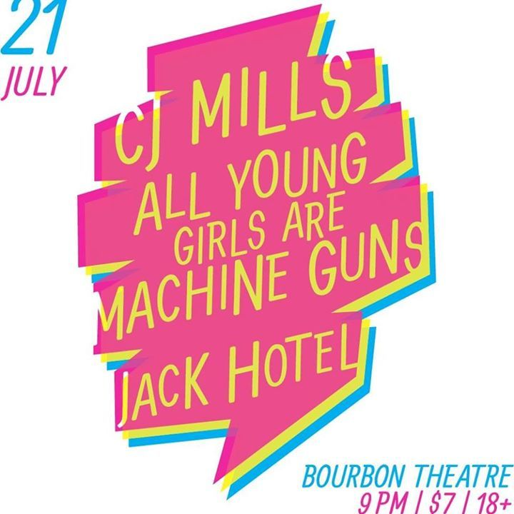 All Young Girls Are Machine Guns Tour Dates