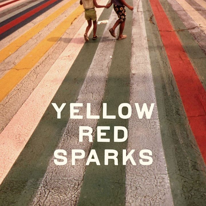 yellow red sparks @ Detroit Bar - Costa Mesa, CA
