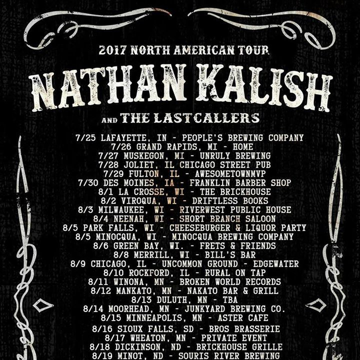 Nathan Kalish @ Stone Church - Brattleboro, VT
