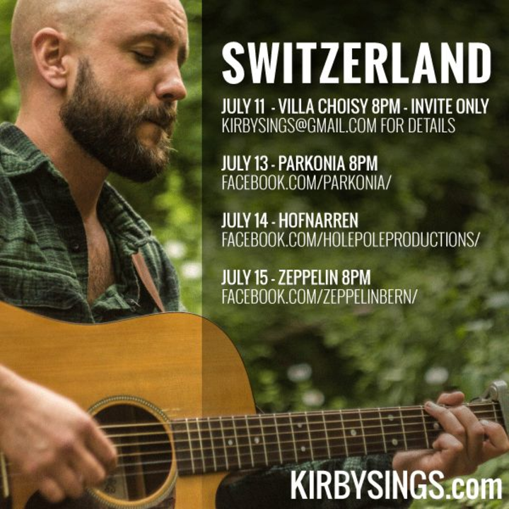 Kirby Tour Dates