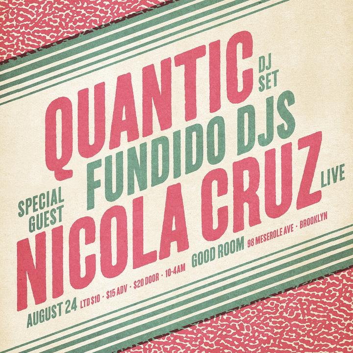 Quantic @ Good Room - New York, NY