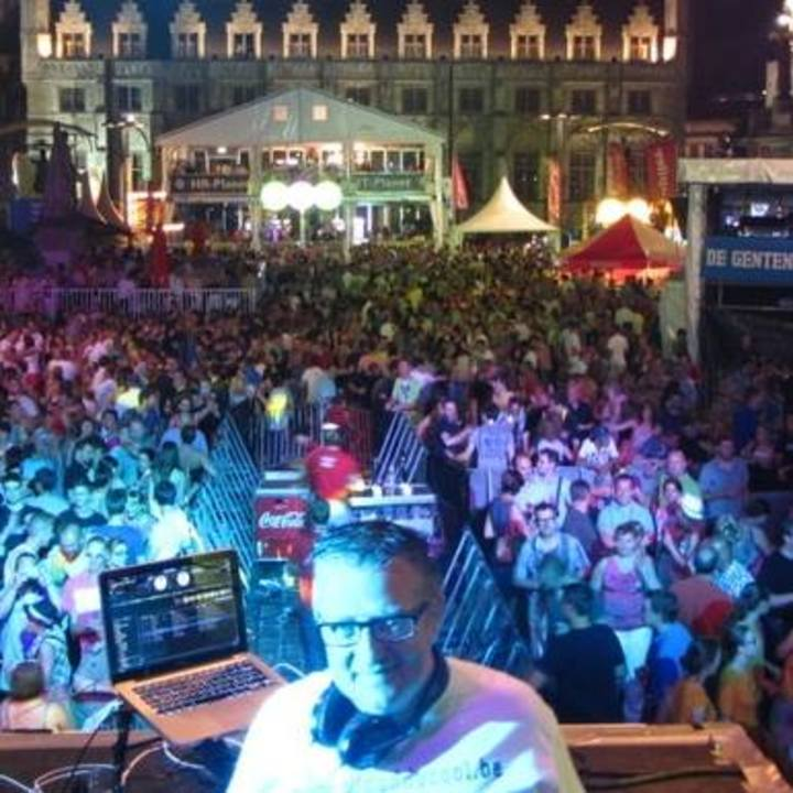DJ Daddy Cool @ Night of the DJs @ COC Ronse - Ronse, Belgium