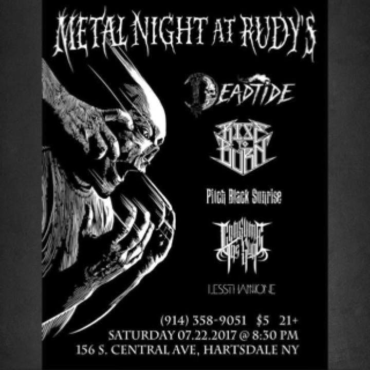 Rise to Burn Tour Dates