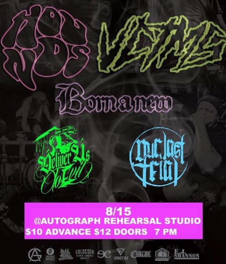 Deliver Us To Evil @ The Autograph Rehearsal Studio - Murfreesboro, TN