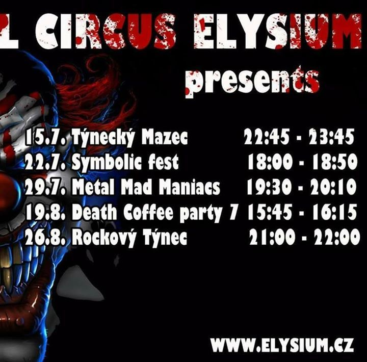 Elysium metal Tour Dates