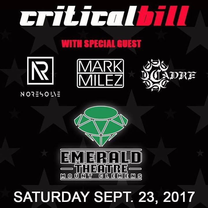 Critical Bill Tour Dates