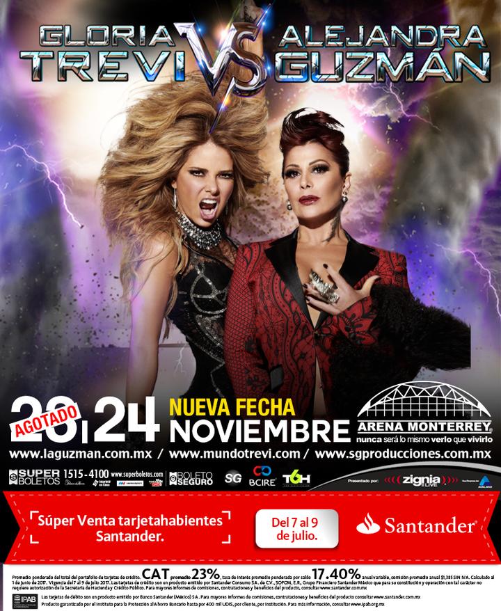 De Pelicula @ Arena Monterrey - Monterrey, Mexico