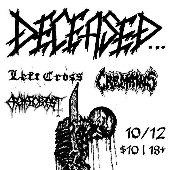 Cremains Tour Dates
