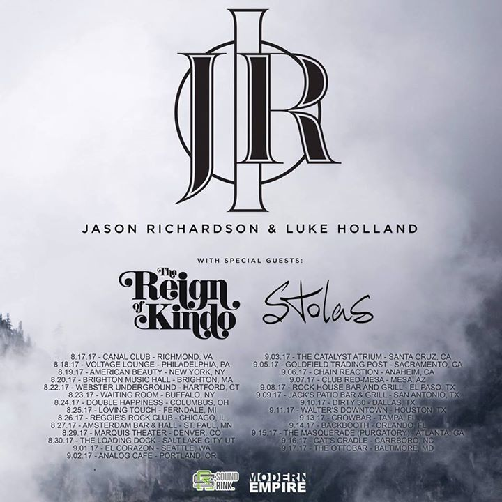 The Reign of Kindo Tour Dates