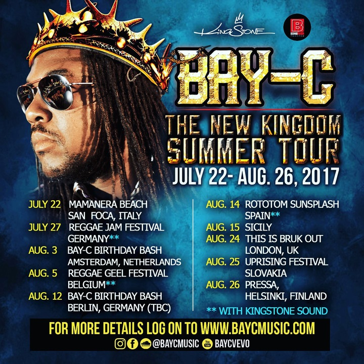 Bay-C Tour Dates
