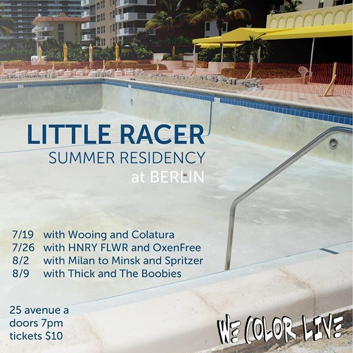 Little Racer Tour Dates