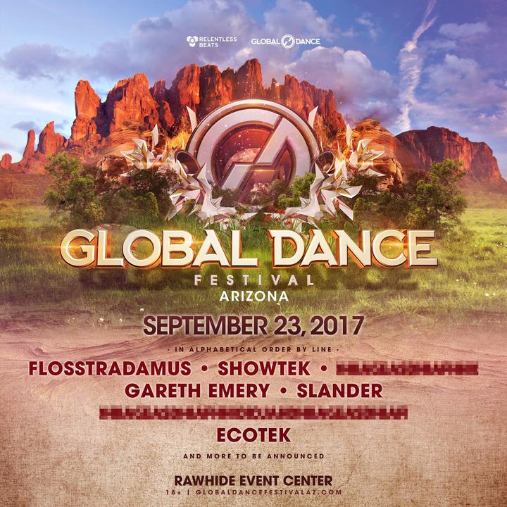 Gareth Emery @ Rawhide Western Town & Event Center - Chandler, AZ