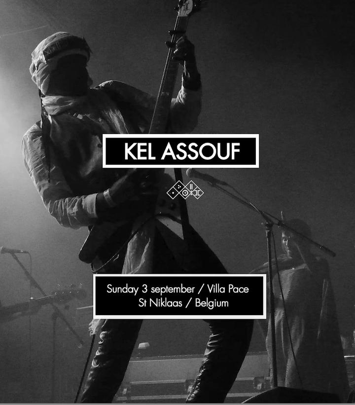 Kel Assouf @ festival Villa Pace - Sint-Niklaas, Belgium