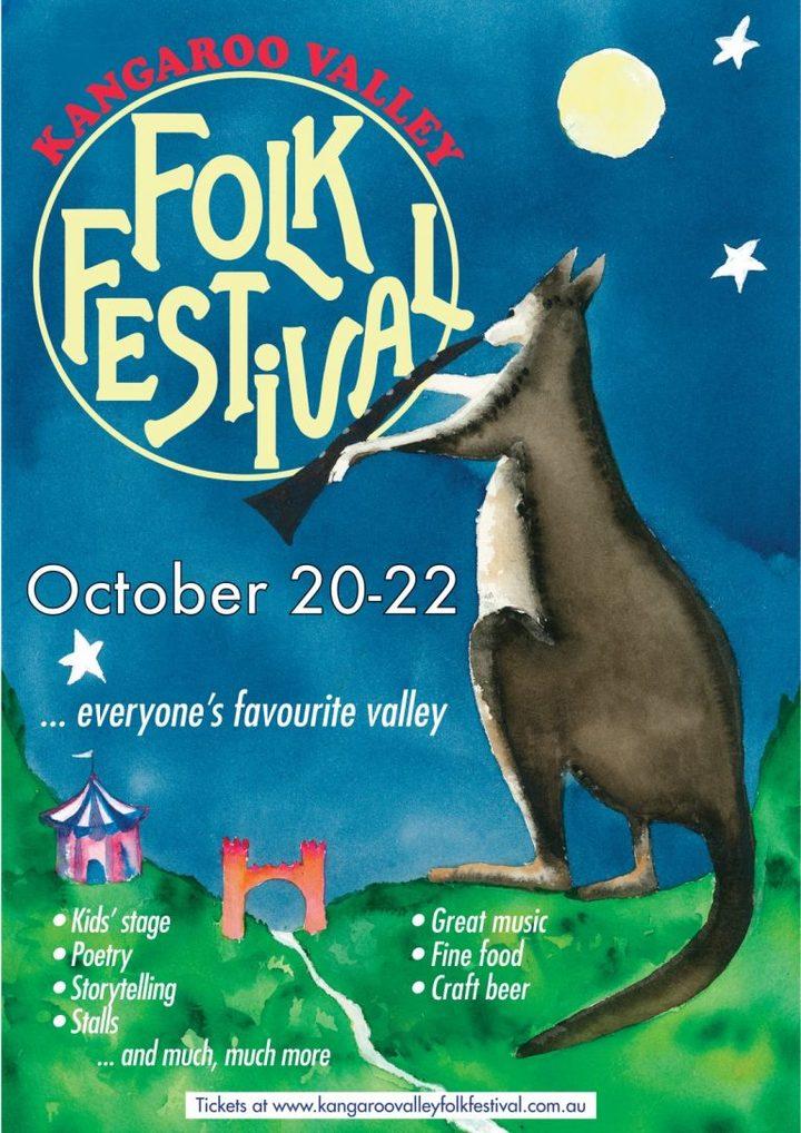 The Low Down Riders @ Kangaroo Valley Folk Festival - Kangaroo Valley, Australia
