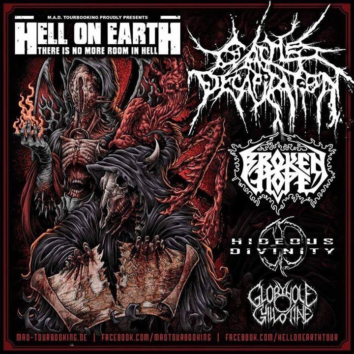 Hell On Earth Tour @ Explosiv - Graz, Austria