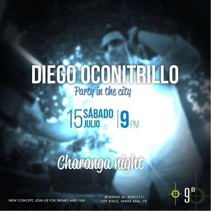 DJ Diego Oconitrillo Costa Rica Tour Dates