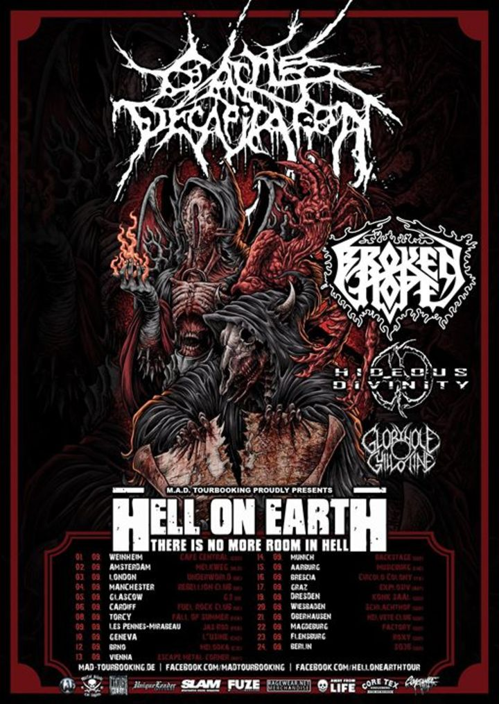 Cattle Decapitation Tour Dates