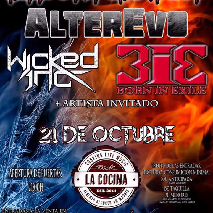 wicked inc. @ Hell's Kitchen Fest - Madrid, Spain
