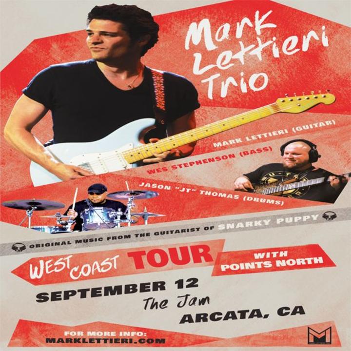 Mark Lettieri Music @ The Jam - Arcata, CA