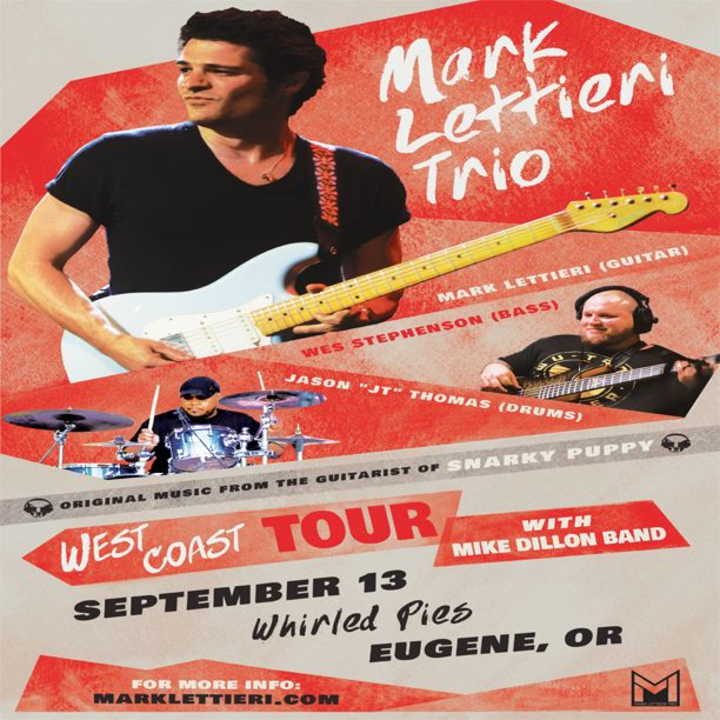 Mark Lettieri Music @ Whirled Pies - Eugene, OR