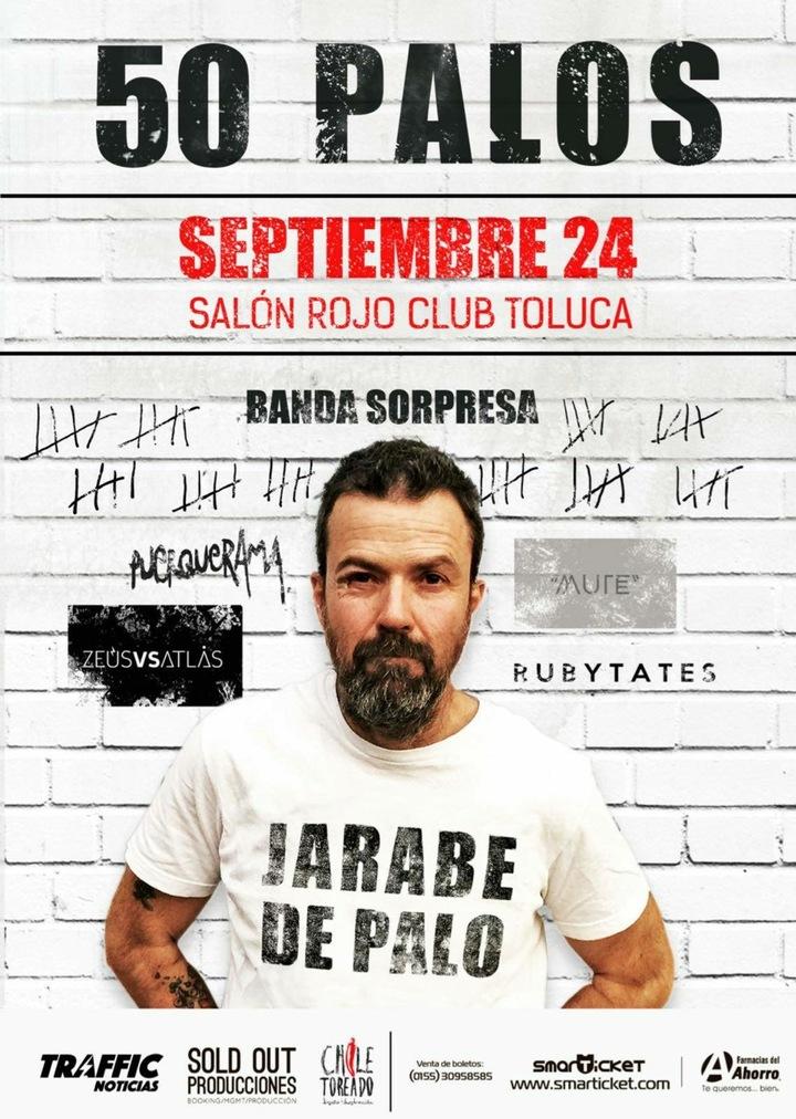 Zeusversusatlas @ SALON ROJO - Toluca, Mexico