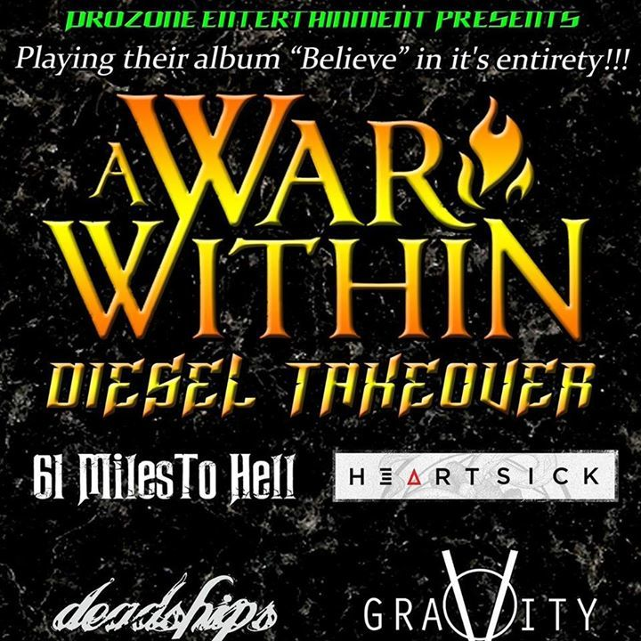 A War Within Tour Dates