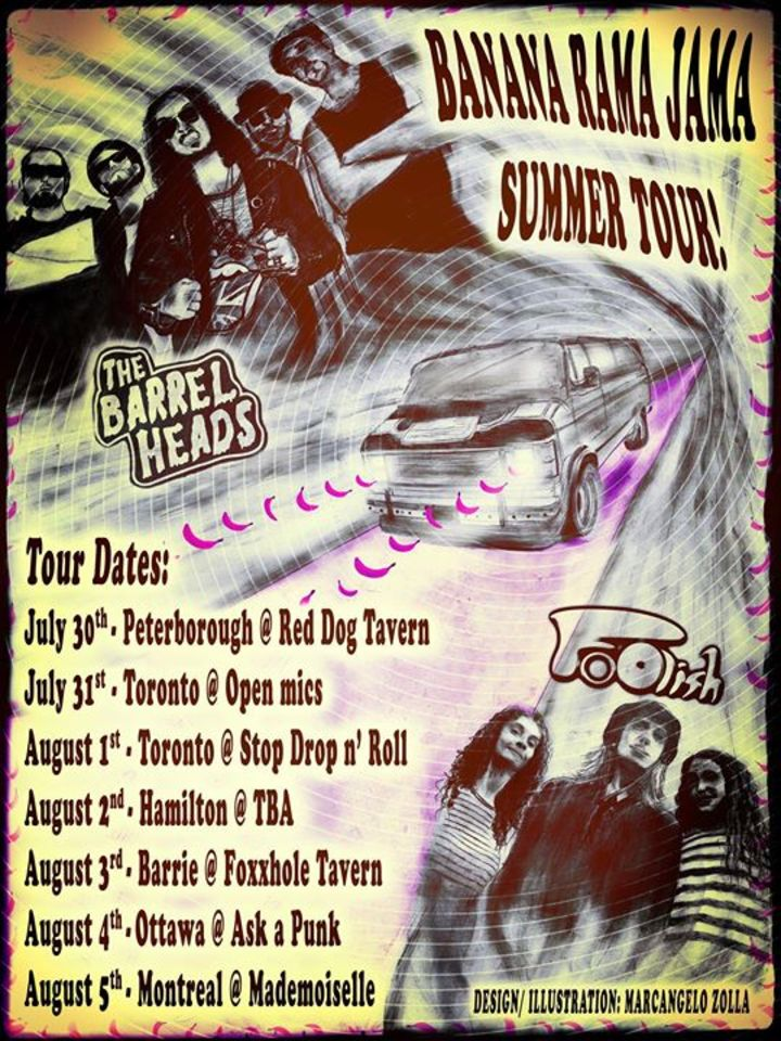 The Barrel Heads Tour Dates