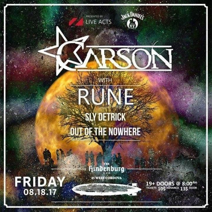 CarsonK Tour Dates